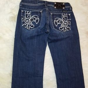 Miss me jeans size 29x32 boot cut mid rise